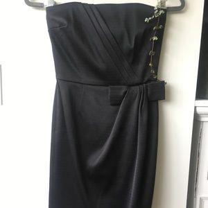 Whitehouse Blackmarket Strapless Mini Dress